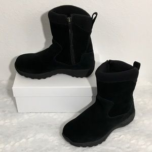 L.L. Bean Zip-up Insulated Suede Winter Boots EUC